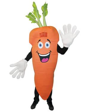 Disfraz de zanahoria Deluxe para adulto