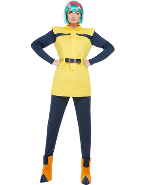 Costume di Bulma taglie forti - Dragon Ball