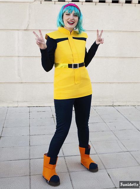 Bulma kostyme ekstra stor - Dragon Ball - dame