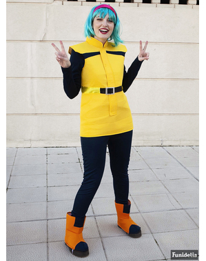 Bulma Maskeraddräkt Plus Size - Dragon Ball