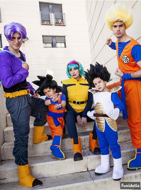 Bulma kostyme ekstra stor - Dragon Ball - utkledning