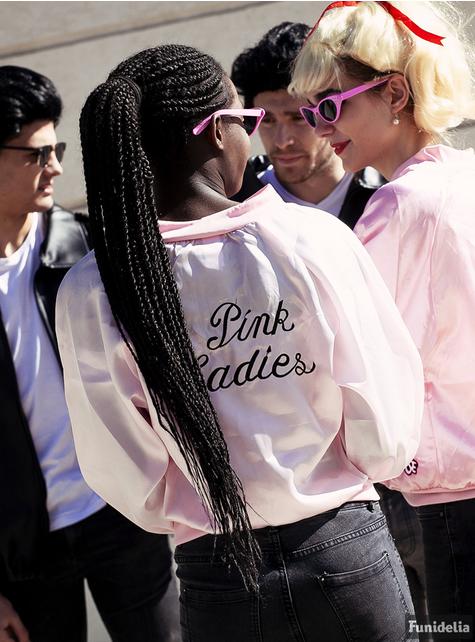 Grote maat Pink Ladies jasje - Grease