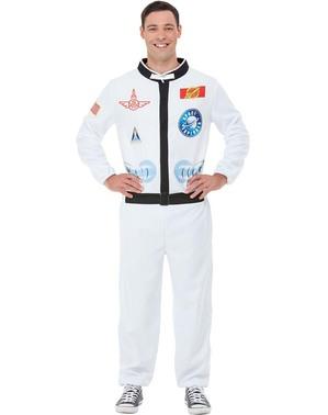 Astronaut Kostüm für Erwachsene große Größe