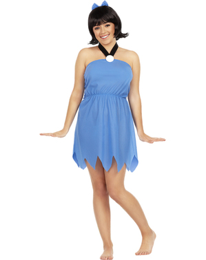 Fato de Betty tamanho grande - Os Flintstones