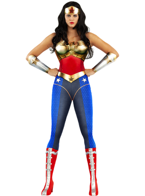 Disfraz de Wonder Woman talla grande - Injustice