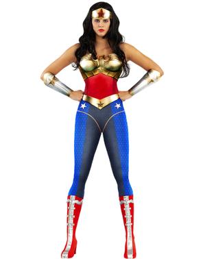 Strój Wonder Woman duży rozmiar - Injustice