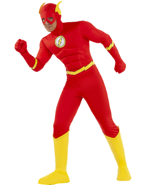 Strój Flash duży rozmiar