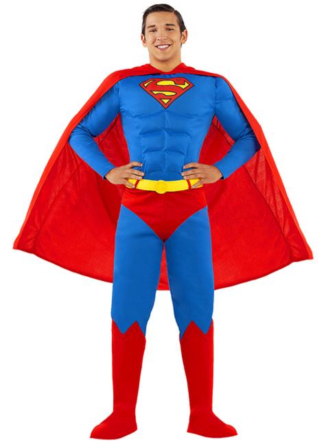 Disfraz de Superman talla grande