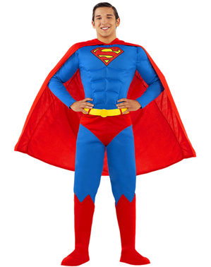 Superman Maskeraddräkt Plus Size