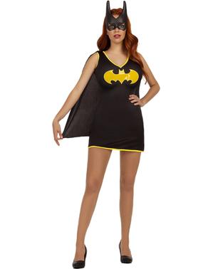 Vestido de Batgirl tamanho grande