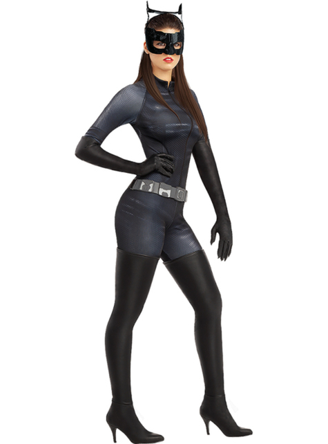 Grote maat Catwoman kostuum - dames