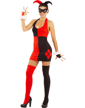 Pluskokoinen Harley Quinn puku
