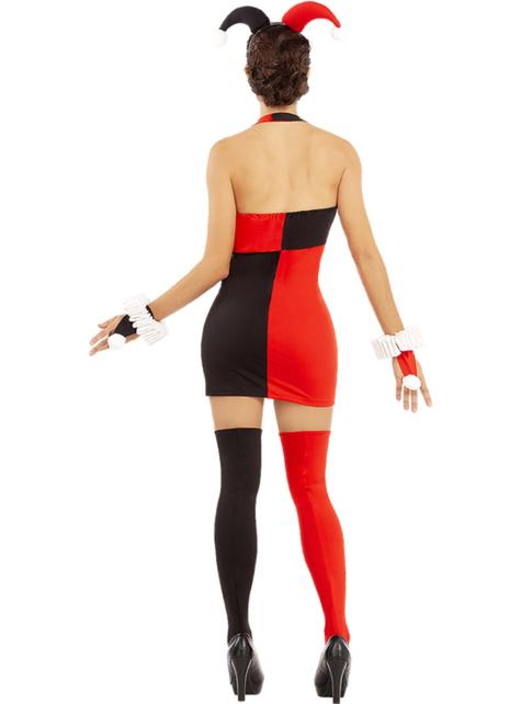 Harley Quinn Dress Plus Size
