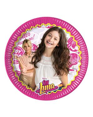 8 platos Soy Luna amigas (23 cm)