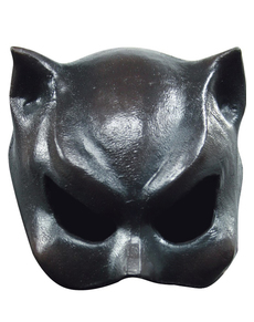 Cat Girl Halloween Half Mask