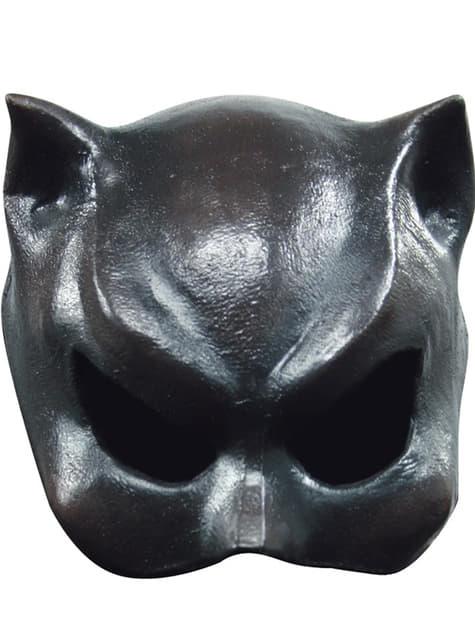 キャットガールハロウィンハーフマスク