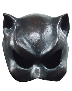 Maschera Half Mask Cat-Girl Halloween