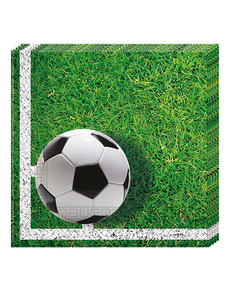 new product bd0bb 6985e Servetter 20 pack Football Party