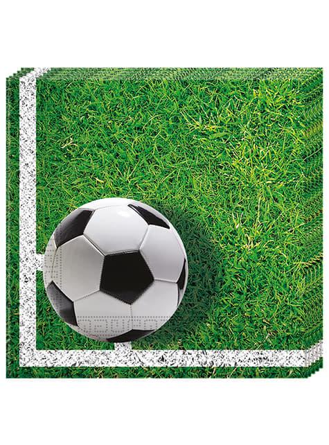 20 servilletas Football Party (33x33 cm)