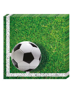 20 Serviettes en papier Football Party