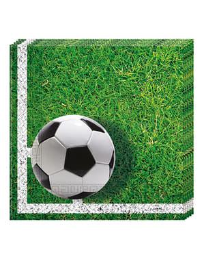 20 guardanapos Football Party (33x33 cm)