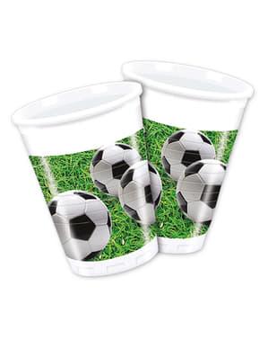 8 vasos Football Party
