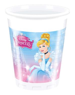 Set 8 bekertjes Prinsessen Disney