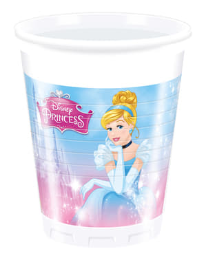 8 Disney Princess Cups