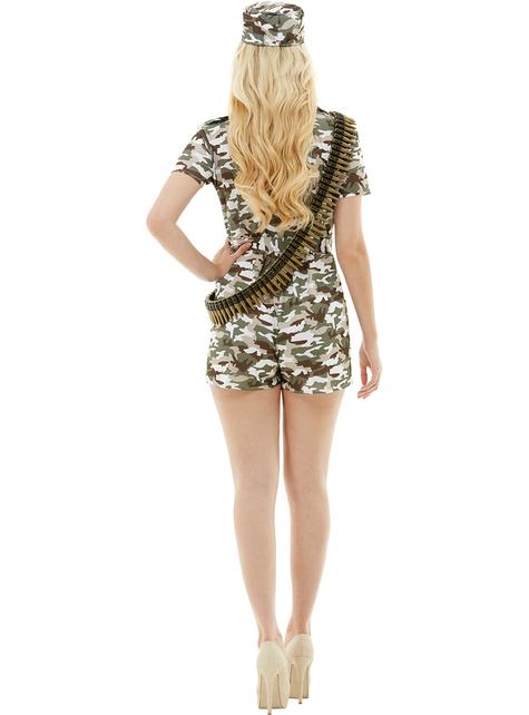 Vojni kostim za žene plus veličina