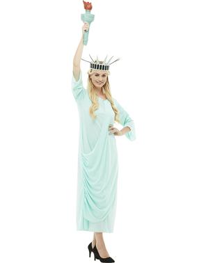 Déguisement statue de la liberté grande taille
