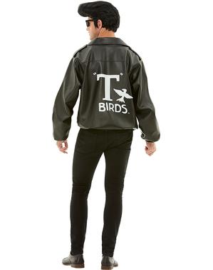 Casaco de T-Bird para homem tamanho grande - Grease
