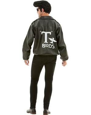 Giacca T Birds taglie forti - Grease