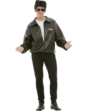 Veste T-Bird homme grande taille - Grease