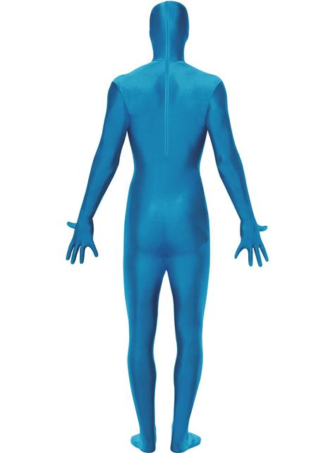Blue Second Skin costume Plus Size