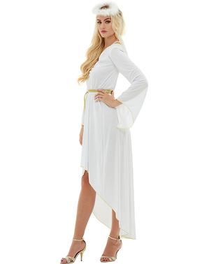 Fato de anjo para mulher tamanho grande