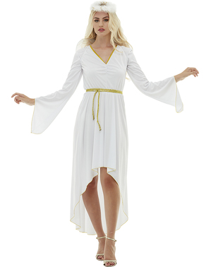 Engel plus size kostyme til dame