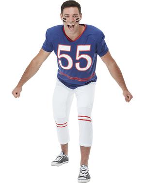 Kostým quarterback modrý extra velký