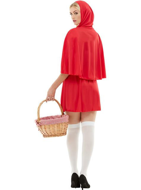 Disfraz de caperucita roja para mujer talla grande
