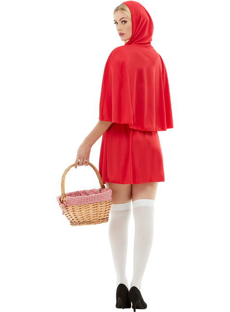 Little Red Riding Hood costume for adults Plus Size