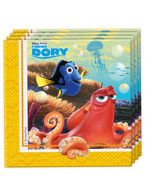 20 servilletas buscando a Dory (33x33 cm)
