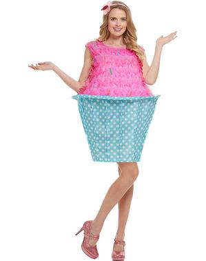 Disfraz de cupcake talla grande