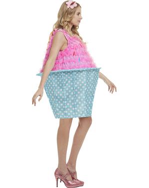 Grote maat Cupcake kostuum