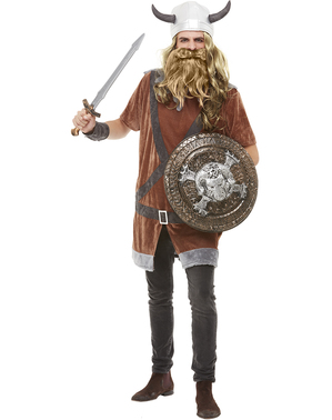 Viking plus size kostyme