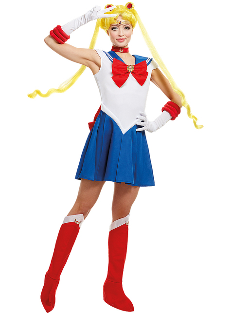 Grote maat Moon kostuum - Sailor Moon