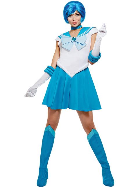 Grote maat Mercury kostuum - Sailor Moon