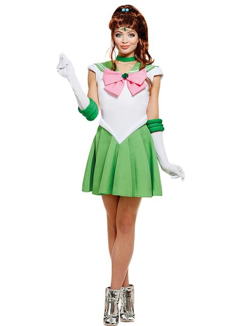 Sailor Jupiter Kostüm große Größe - Sailor Moon