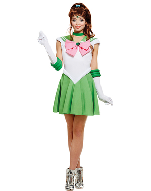 Sailor Jupiter plus size kostume - Sailor Moon
