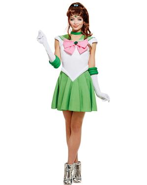 Sailor Jupiter plus size kostyme - Sailor Moon