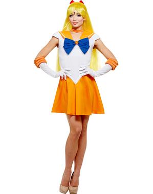 Grote maat Venus kostuum - Sailor Moon