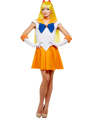 Sailor Venus plus size kostyme - Sailor Moon